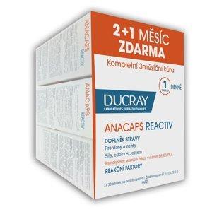 Ducray Anacaps Reactiv 30 tobolek TRIO (2+1 zdarma)