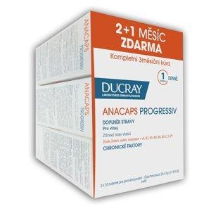 Ducray Anacaps Progressiv 30 tobolek TRIO (2+1 zdarma)
