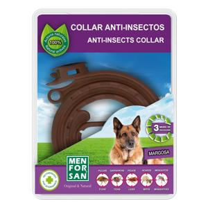 Menforsan Antiparazitní obojek pro psy odpuzující klíšťata a blechy 57 cm