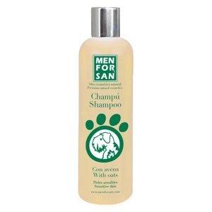 Menforsan Přírodní šampon pro psy s citlivou srstí s ovsem 300 ml