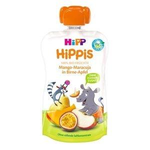 HiPP BIO 100% ovoce hruška-jablko-mango-marakuja 100g