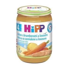 Hipp BABY MENU BIO Karotka s bramborami a lososem 190 g