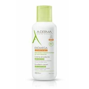 A-Derma Exomega Control emolienční krém pro suchou kůži se sklonem k atopii 400 ml