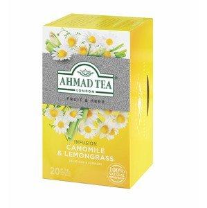 Ahmad Tea Camomille & Lemongrass porcovaný čaj 20x1,5 g