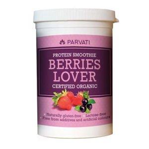 Iswari Protein smoothie berries lover BIO proteinový nápoj 160 g