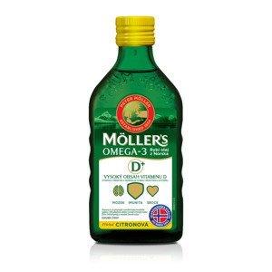 Mollers Omega 3 dospělí 50+ 250 ml