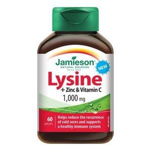 Jamieson Lysin 1000 mg se zinkem a vitaminem C 60 tablet