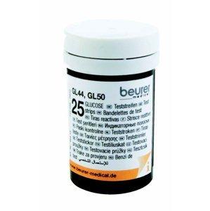 Beurer Testovací proužky ke glukometru Beurer GL 44/GL 50 2x25 ks