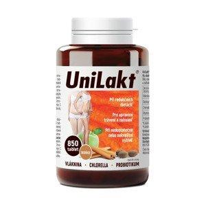 Unilakt se skořicí a řasou chlorella 850 tablet