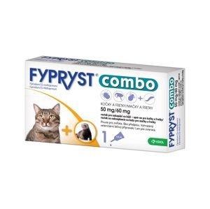 Fypryst Combo spot-on pro kočky a fretky 50 mg/60 mg roztok pro nakapání na kůži 1x0,5 ml