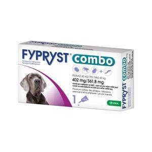 Fypryst Combo spot-on pro velmi velké psy nad 40 kg 402 mg/361,8 mg roztok pro nakapání na kůži 1x4,02