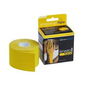GM Kinesio tape 5 cmx5 m tejpovací páska žlutá
