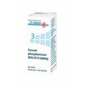 Schüsslerovy soli Ferrum phosphoricum DHU D12 80 tablet
