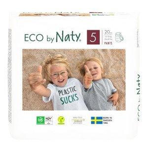 ECO by Naty Junior 12-18 kg plenkové kalhotky 20 ks