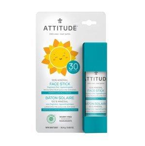 ATTITUDE Dětská ochranná tyčinka na obličej a rty SPF30 18 g