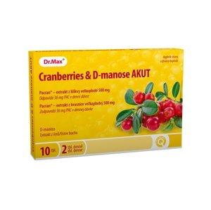 Dr.Max Cranberries & D-manose AKUT 10 tablet
