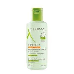 A-Derma Exomega Control zvláčňující mycí gel pro suchou kůži se sklonem k atopii 2v1 200 ml