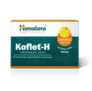 Himalaya Herbals Koflet-H Orange pastilky s medem 12 ks