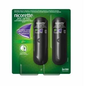 Nicorette Spray 1 mg/dávka orální sprej 2x13,2 ml