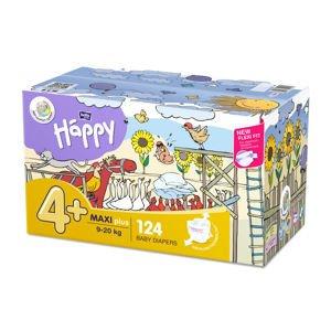 Bella Baby Happy Maxi+ 9-20 kg dětské plenky box 2x62 ks