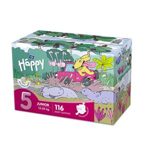 Bella Junior 12–25 kg dětské plenky box 2x58 ks