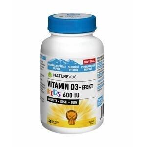 NatureVia Vitamin D3-Efekt Kids 60 tablet