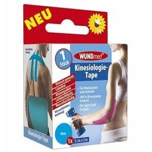 WUNDmed Kineziologická tejpovací páska 5cm x 5m 1 ks modrá