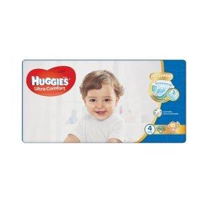 Huggies Ultra Comfort Jumbo vel. 4 8-14 kg dětské plenky 50 ks