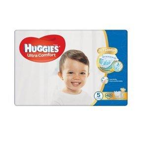 Huggies Ultra Comfort Jumbo vel. 5 12-22 kg dětské plenky 42 ks