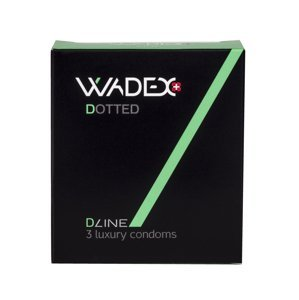 WADEX Dotted kondomy 3 ks