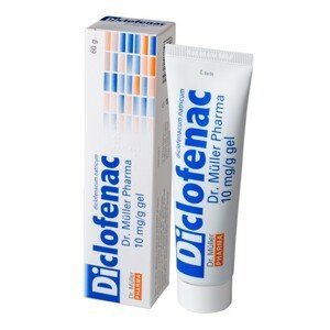 Dr. Müller Diclofenac 10 mg/g gel 60 g