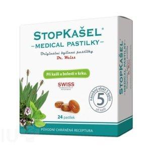 Dr. Weiss STOPKAŠEL Medical 24 pastilek