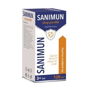 Sanimun sirup pro děti 120 ml