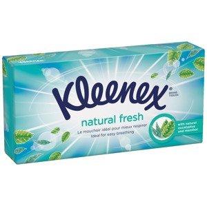 Kleenex Balsam + Menthol kapesníky papírové box 72 ks