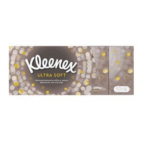 Kleenex Ultra Soft kapesníky papírové 10x9 ks