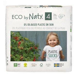 ECO by Naty Maxi 7-18 kg dětské plenky 26 ks