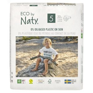 ECO by Naty Junior 11–25 kg dětské plenky 22 ks