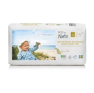 ECO by Naty Maxi 7-18 kg dětské plenky 44 ks