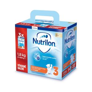 Nutrilon 3 výhodné balení 3x600 g