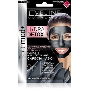 Eveline Facemed+ Hydra Detox pleťová maska 2x5 ml