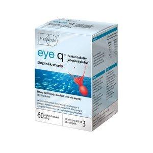 Eye q jahodová příchuť 60 žvýkacích tobolek