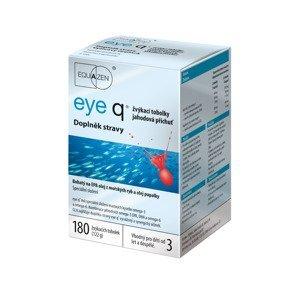 Eye q jahodová příchuť 180 žvýkacích tobolek