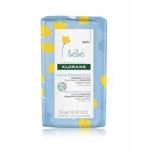 KLORANE Bébé Velmi jemné výživné mýdlo kostka 250 g
