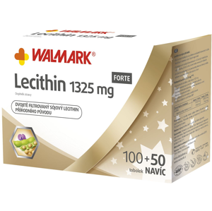 Walmark Lecithin Forte 1325 mg 100+50 tobolek Vánoce 2018