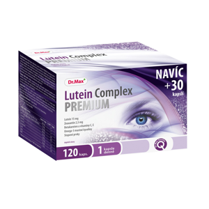 Dr.Max Lutein Complex Premium dárkové balení 120 kapslí