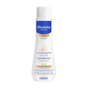 Mustela Vyživující čisticí mléko na suchou pokožku 200 ml