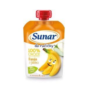 Sunar Do ručičky banán a jablko 100 g