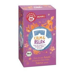 Teekanne Organics BIO Calm & Relax čaj porcovaný 20x1,8 g