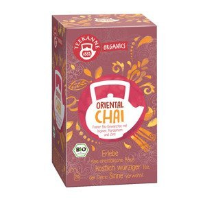 Teekanne Organics BIO Oriental Chai čaj porcovaný 20x1,8 g