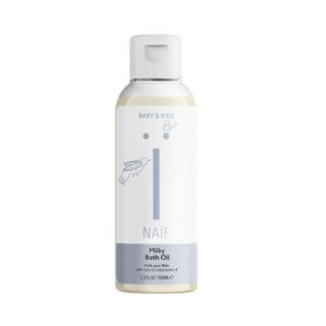 NAIF Mléčný koupelový olej pro děti a miminka 100 ml